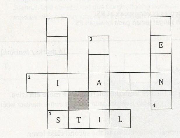 teka silang kata peribahasa dan jawapan bermanfaat pelbagai teka silang kata bahasa melayu tingkatan 5 yang gambar