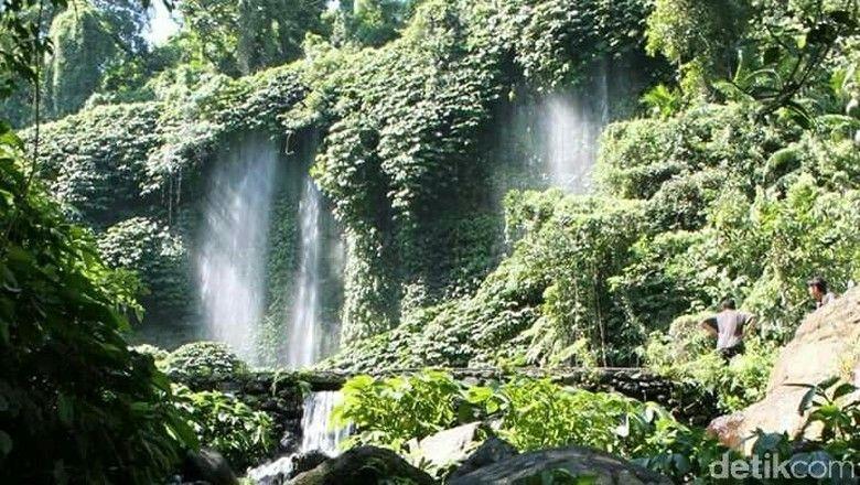 kawasan objek wisata air terjun benang kelambu harianto detiktravel