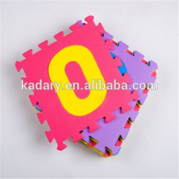 angka arab eva puzzle tikar untuk anak anak