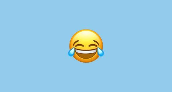 sampai sekarang emoji tears of joy adalah emoji yang paling banyak digunakan dari 2 tahun yang lalu emoji ini selalu menjadi emoji paling populer yang