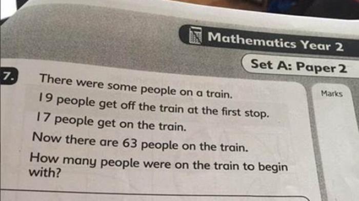 bisakah anda memecahkan soal matematika untuk anak usia enam tahun ini