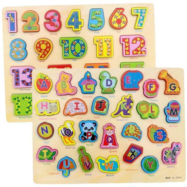 baru kedatangan bayi mainan 12 pcs kartun hewan kendaraan jigsaw puzzle memiliki referensi foto kayu