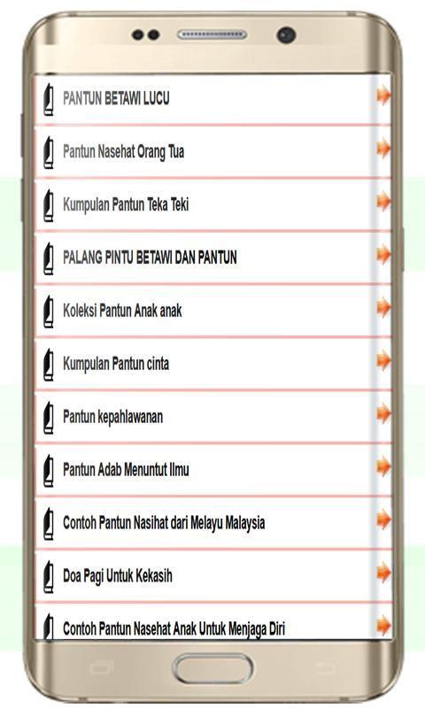 contoh pantun nasihat dari melayu malaysia screenshot 1