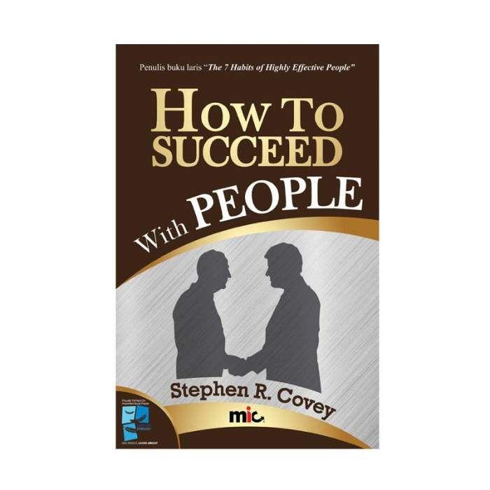 cek harga how to succeed with people by stephen r covey buku pengembangan diri bulan ini harga 2019