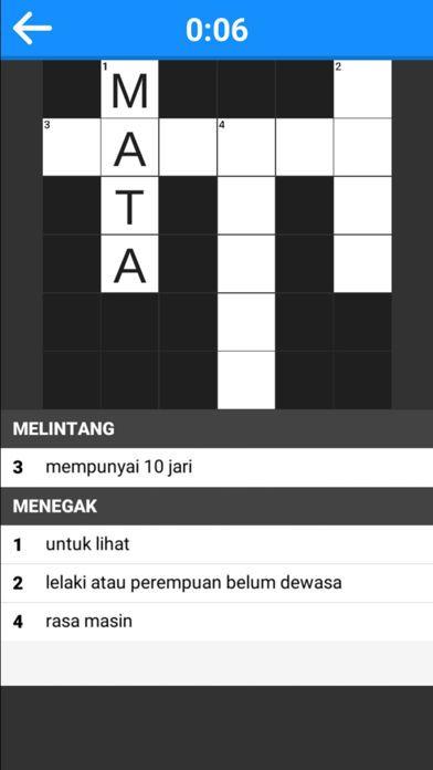 screenshot for jom teka teki 3 silang kata in united states app store