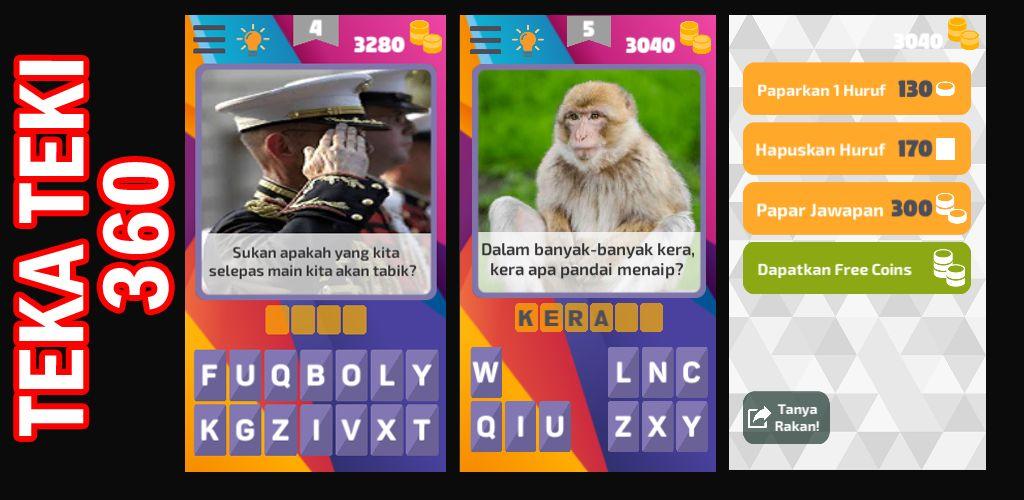 aplikasi ini mengandungi ratusan teka teki yang pertama dalam bahasa melayu yang mencabar minda dan menguji iq para pemain