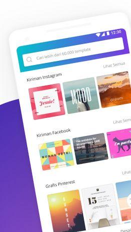 Desain Poster Online Meletup Canva Membuat Desain Grafis Pembuat Logo Kartu 2 14 0 Unduh Apk