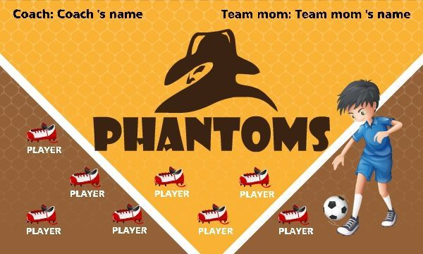 soccer banner ideas youth soccer banners ayso banners 69 99