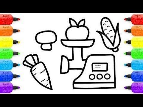cara menggambar dan mewarna untuk kanak kanak warna seni untuk kanak kanak