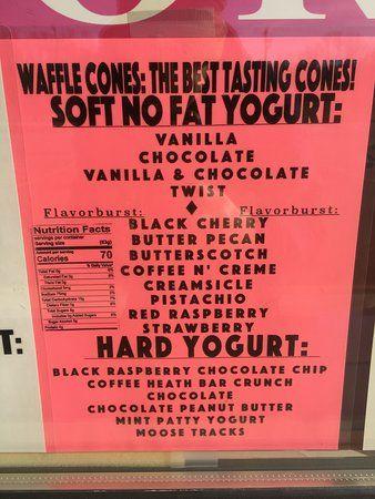 guptill s ice cream 2017 yogurt flavors