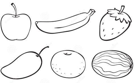 hasil gambar untuk gambar buah buahan buat anak tk