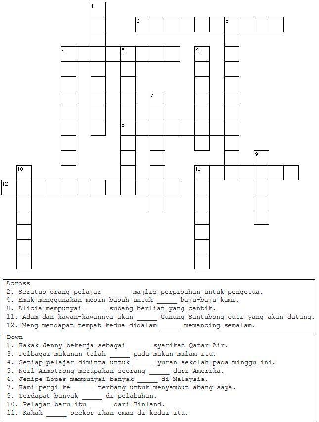 contoh soalan teka silang kata bermanfaat pelbagai teka silang kata pengakap yang sangat meletup untuk ibubapa