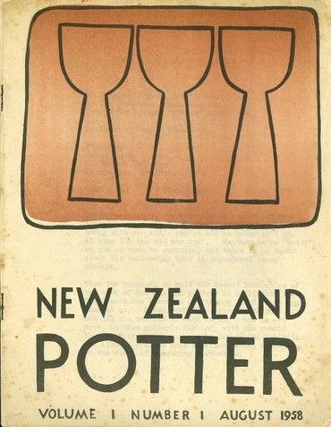 new zealand potter volume 1 number 1 august 1958