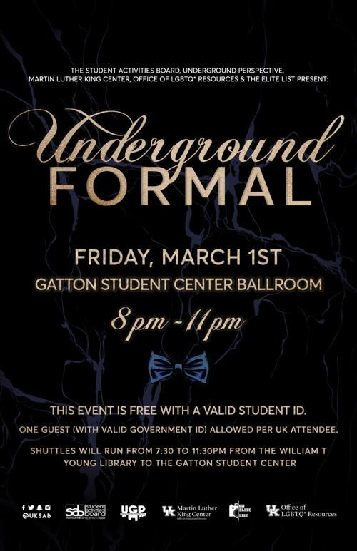 underground formal offers students a night off for 4th year features kykernel com
