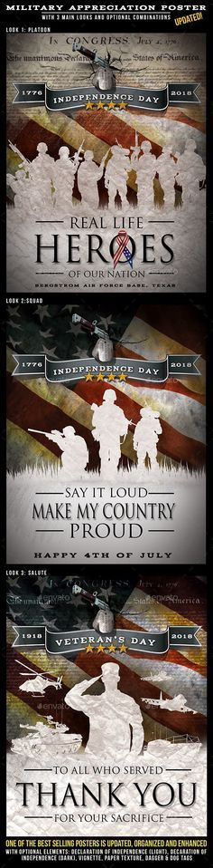 independence day military themed design for posters flyers holidays events independence day poster