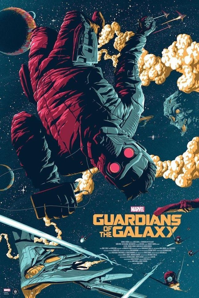 grey matter art will sell this incredible guardians of the galaxy poster by