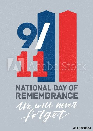 modern poster template for united states national day of service and
