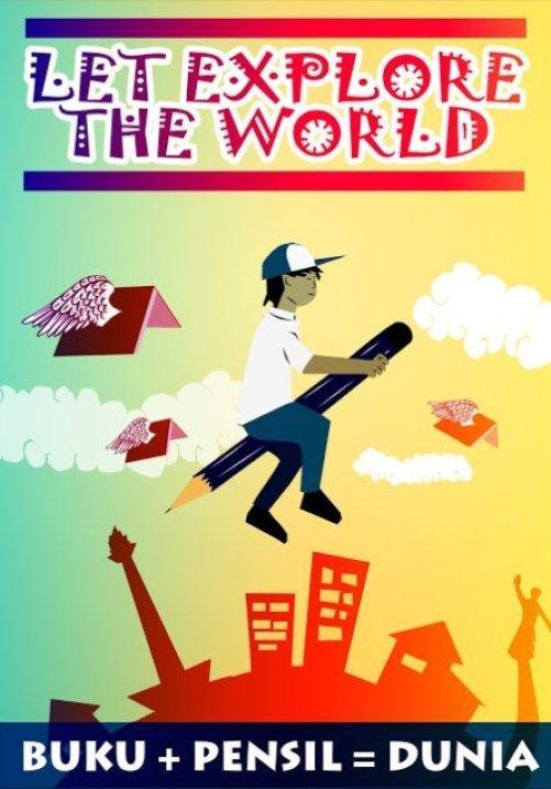poster ajakan membaca buku terbaik a 190 contoh poster slogan berbagai tema kreatif dan inspiratif