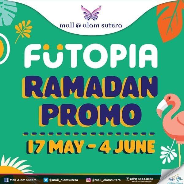tapi tenang futopia mall alam sutera tengah mengadakan ramadan promo untuk kalian yang ingin mengadakan buka bersama namun tak perlu merogoh kocek yang