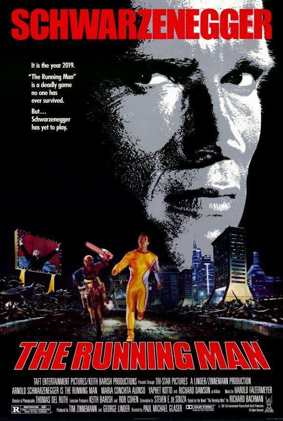 top ten game movies movies tv movie posters running man movie film posters