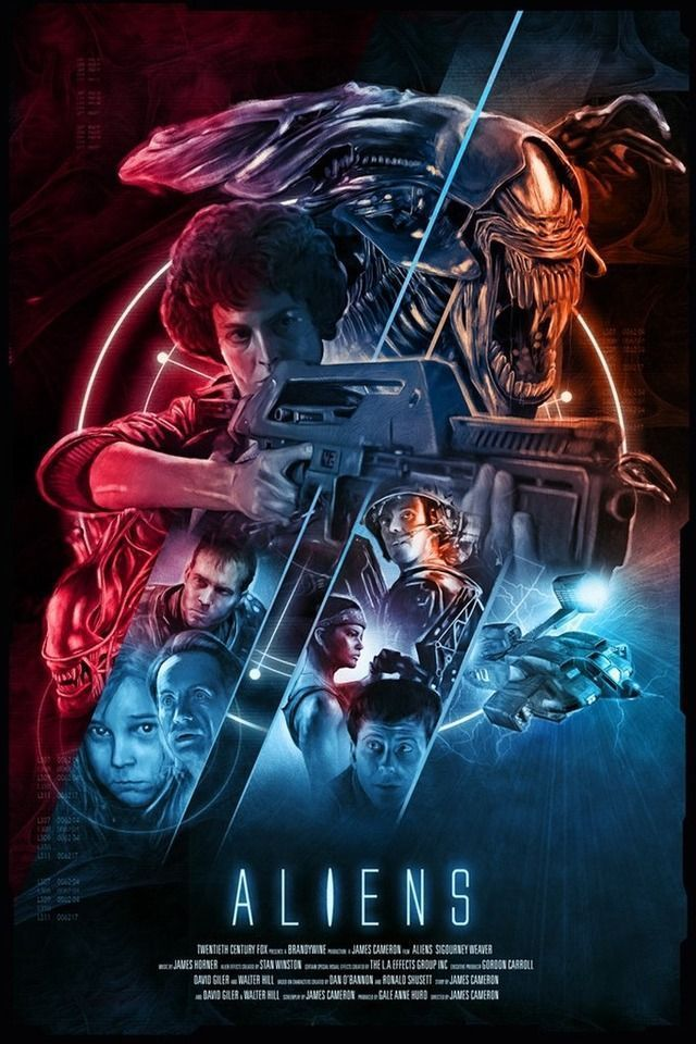 aliens by james cameron alt movie posters in 2019 alien movie poster aliens movie movie posters