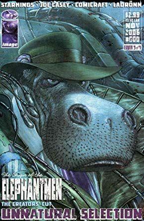 amazon com elephantmen 0d vf nm image comic book entertainment collectibles