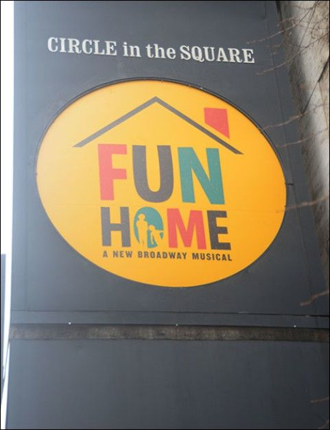 broadway gets a makeover with new marquees for gigi fun home neverland rotten zhivago and more playbill