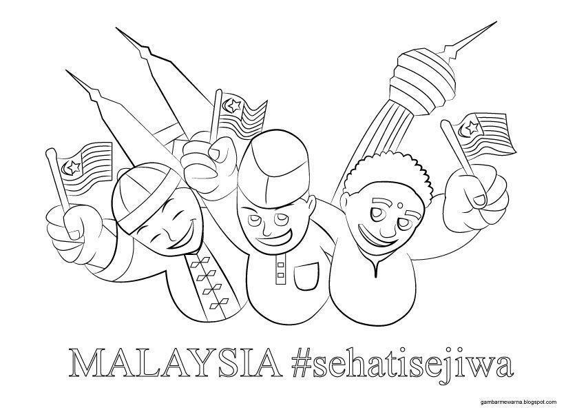 Poster Hari Kebangsaan Bermanfaat Himpunan Poster Mewarna Hari Merdeka Yang Meletup Dan Boleh Di