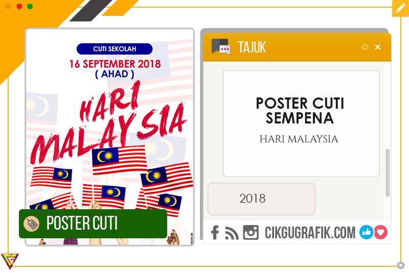 poster cuti sekolah hari malaysia koleksi grafik untuk guru jpg 800x535 poster cuti sekolah