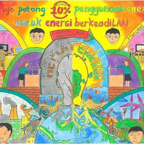 judul hemat energi untuk energi berkeadilan nama sekolah smp kristen 1 harapan denpasar kota