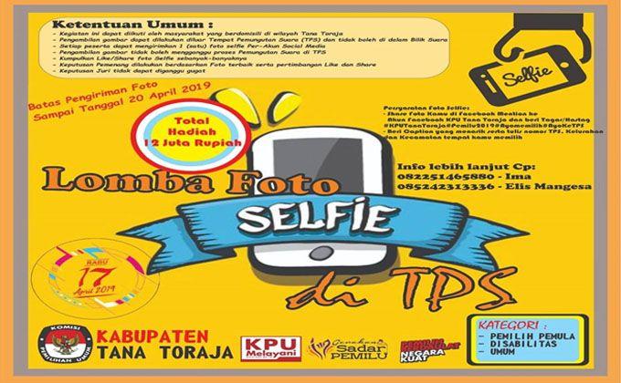 ayo ikut lomba foto selfie di tps hadiahnya jutaan rupiah