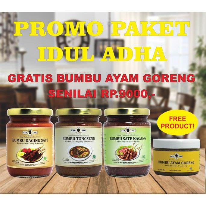 terbaru promo paket cap ibu idul adha berhadiah bumbu ayam goreng shopee indonesia
