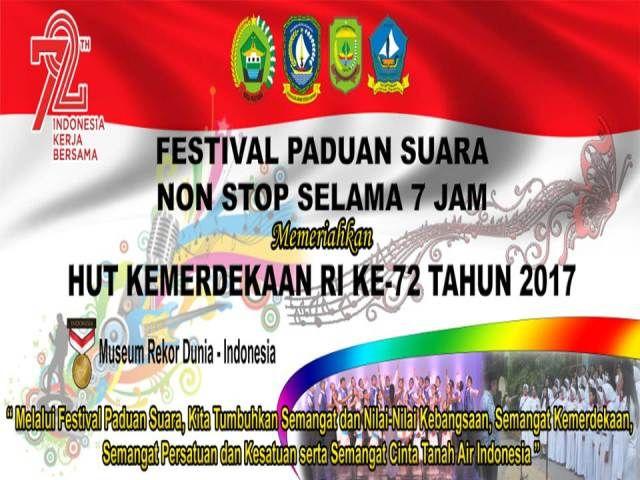 Poster Kemerdekaan Indonesia Terbaik 01 Komando Resor Militer 033 Wira Pratama