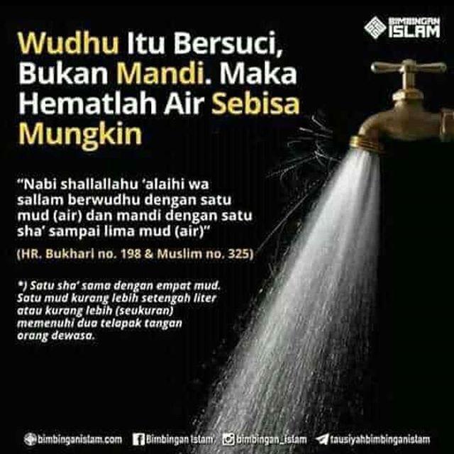 wudhu mandi hemat air kartun muslimah indo kartunmuslimahindonesia