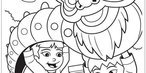 coloring upin ipin coloring page ideas