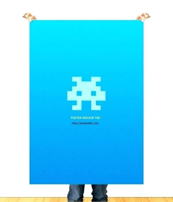 by poster template 5 monster logo x 24 36 free download