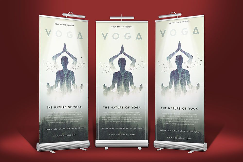 roll up banner mockup new download this 3 stand roll up banner mockup designhooks