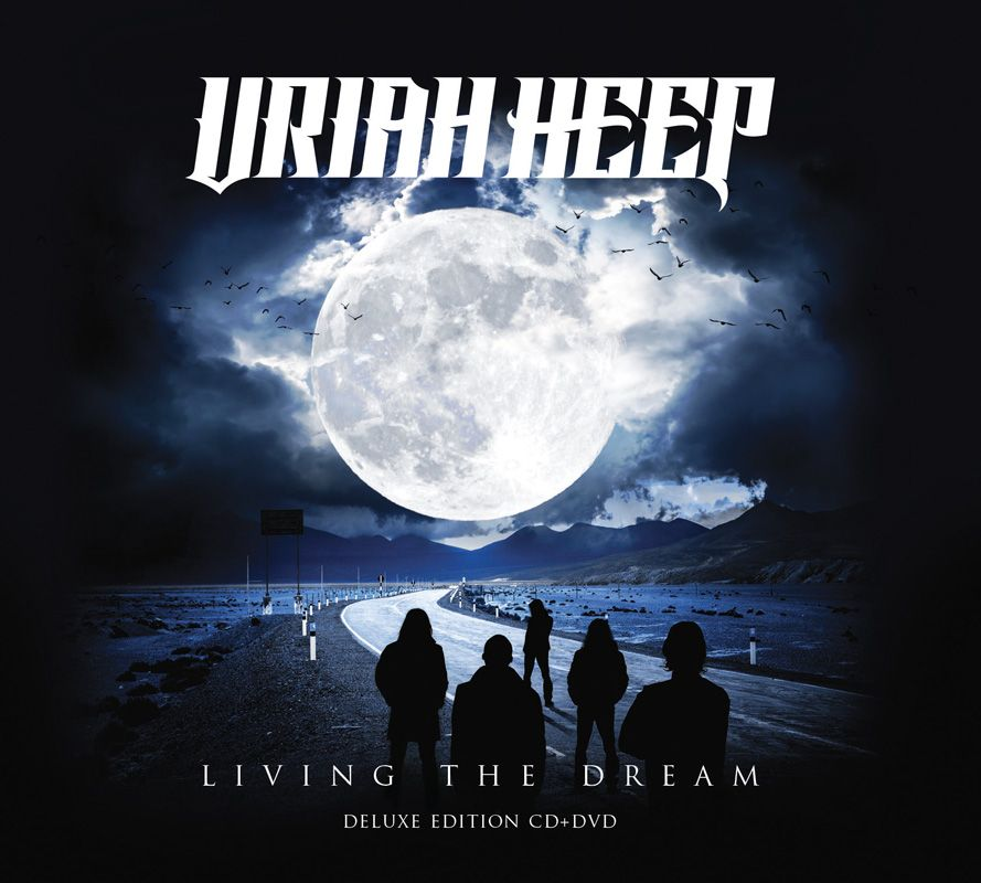 uriah heep living the dream cd dvd digipak deluxe edition frontiers music official shop
