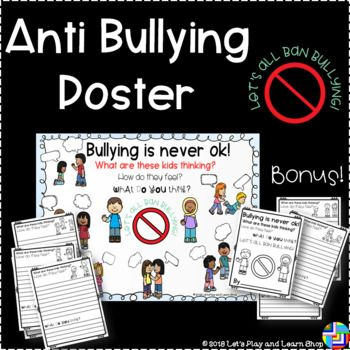 free anti bullying posters anti bullying poster teaching resources