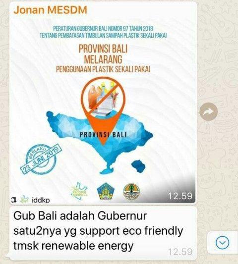 Poster Tentang Sampah Penting Langkah Gubernur Bali Batasi Sampah Plastik Diapresiasi