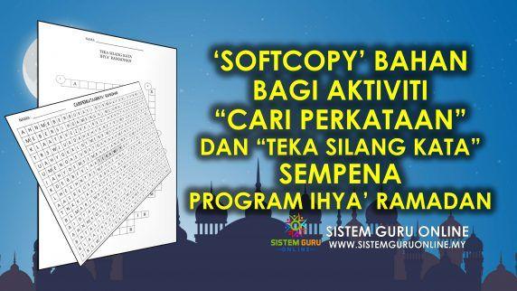 Teka Silang Kata Bahasa Melayu Tahap 1 Bernilai softcopy Bahan Bagi Aktiviti Cari Perkataan Dan Teka Silang Kata