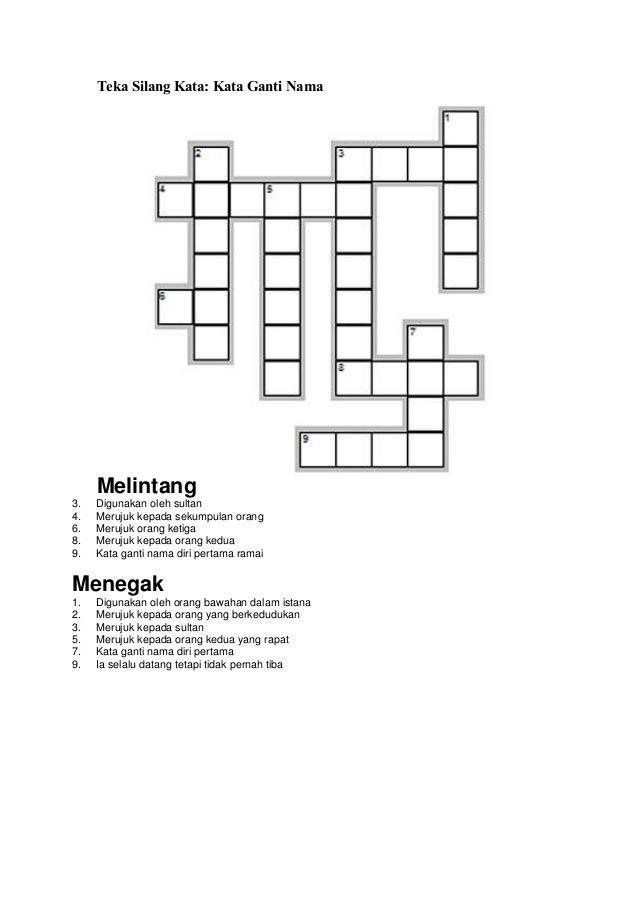 pelbagai teka silang kata matematik tingkatan 1 yang sangat berguna untuk ibubapa dapatkan