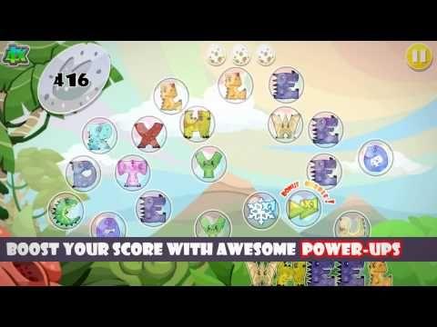 Teka Silang Kata Untuk Kanak-kanak Power Dino Pop Letter Spelling Game 1 1 Muat Turun Apk Untuk android