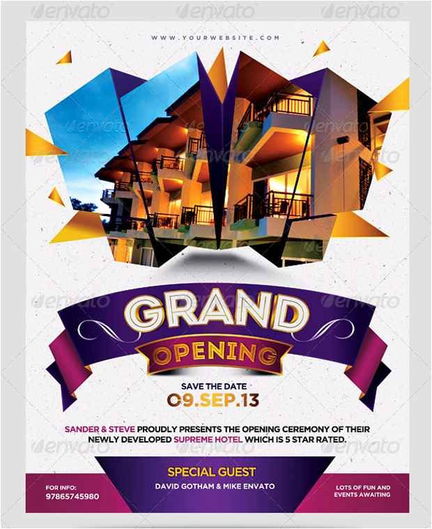 poster template underrgdorfbib grand opening flyer template fresh free collection 42 advertising flyer template